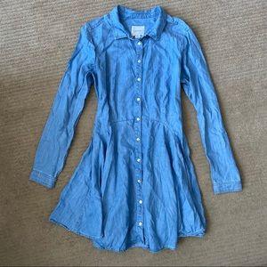 GUESS Denim long Sleeved Dress